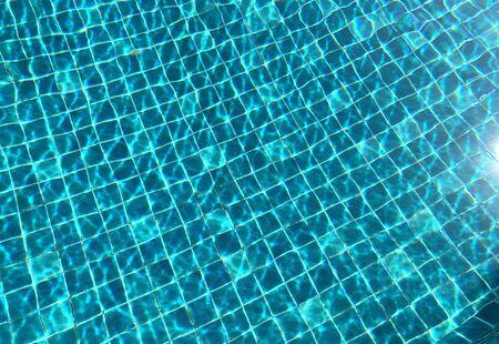 close up water at the swimming pool Standard-Bild