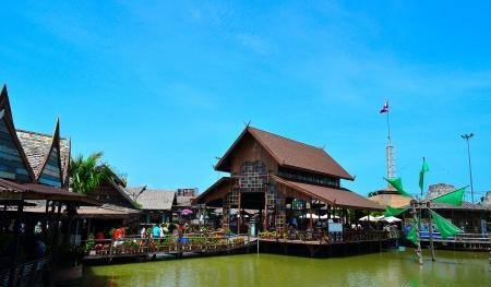 floating market: Floating market Editorial