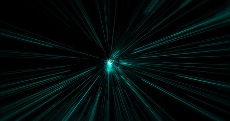 warp speed: Abstract Science Fiction Futuristic Background Stock Photo