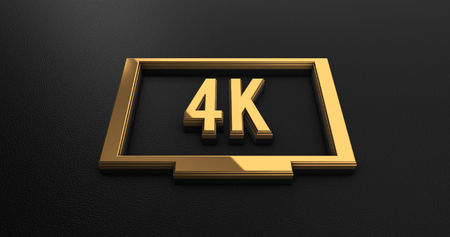 black leather: Luxury Design 3d Gold 4k Resolution Icon on Black Leather