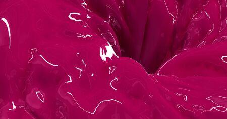 silky velvet: Pink Liquid Abstract Background - Creative Design Element. Stock Photo