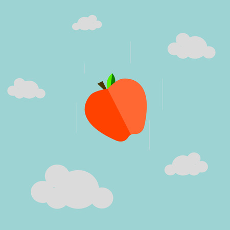 gravitational field: Gravity with Apple