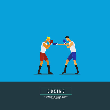 shirtless: Sports Graphic Design - Boxing Illustration
