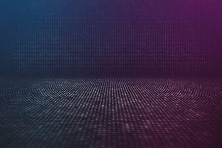 cyberpunk: Futuristic Data Stream Abstract Background