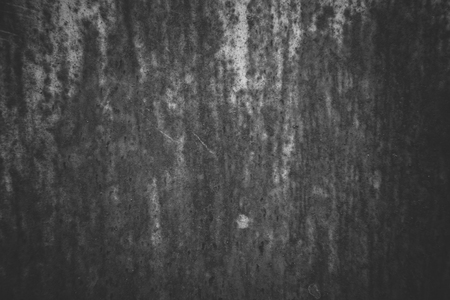 rust: Black and White Old Metal Iron Rust Texture