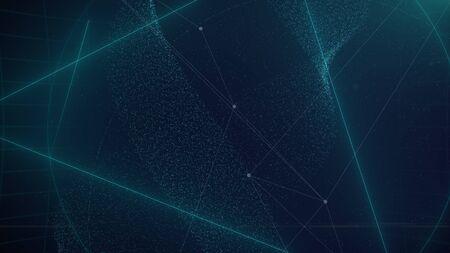 futuristic: Abstract futuristic digital technology background