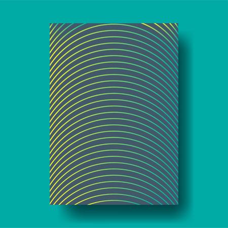 notebook cover: Abstract Geometric Line Cover Design layout for banners, wallpaper, flyers, invitation, posters, brochure, voucher discount - Vector illustration template