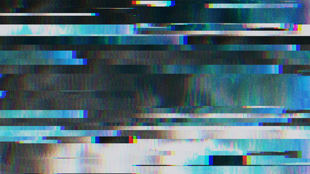 Unique Design Abstract Digital Pixel Noise Glitch Error Video Damage Imagens