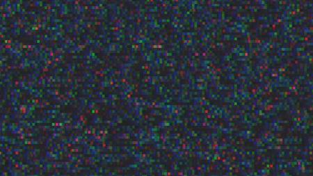 Unique Design Abstract Digital Pixel Noise Glitch Error Video Damage Banque d'images