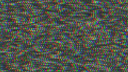 Unique Design Abstract Digital Pixel Noise Glitch Error Video Damage Stock fotó
