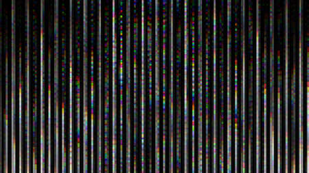 Unique Design Abstract Digital Pixel Noise Glitch Error Video Damage 写真素材