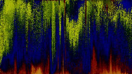 Unique Design Abstract Digital Pixel Noise Glitch Error Video Damage Reklamní fotografie