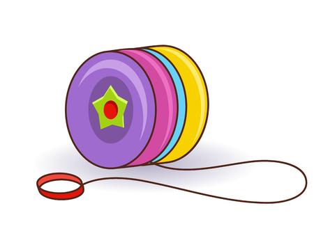 Illustration vectorielle eps10 isolé sur fond blanc. Symbole de jouet de bébé réaliste, concept d'enfance de jeu amusant. Jouet enfant mignon dessin animé, icône préscolaire drôle mignon