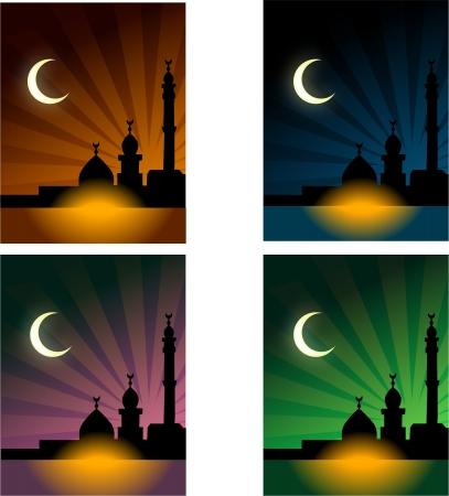 congratulate: An Islamic card,to congratulate