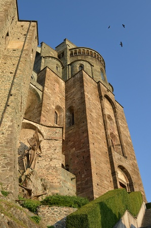 St. Michaels abbey near Turin, Italy photo