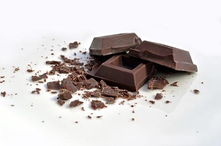Chocolate squares Stock Photo - 10933702