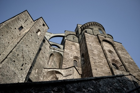 impervious: Sacra di San Michele, St. Michaels abbey near Turin, Italy