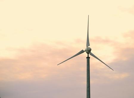 Single wind turbine - Environmental clean energy generator