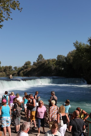 Nature Waterfall Manavgat at Antalya - Turkey