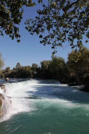 Nature Waterfall Manavgat at Antalya - Turkey photo