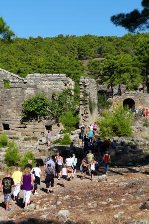 anatolia: Seleukeia historic town at Anatolia Side, Turkey  Editorial