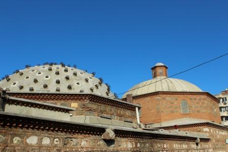 turkish bath: Historic Sultan precincts Turkish bath in Manisa, Turkey
