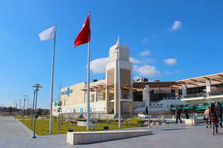 Manisa, Turkey - March 2013:  Magnesia Shopping mall