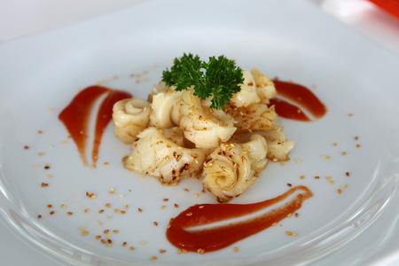cava: Seared Scallops with Cava Cream