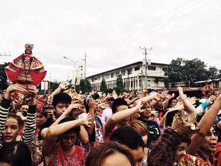 processions: Procession across the City of the Child Jesus Sto. Nio before the actual fiesta. Attended regularly by all who pay patronage to Him.