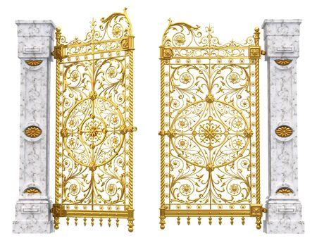 Gold gate Фото со стока