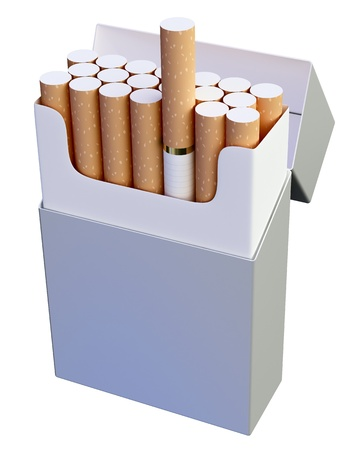Cigarette pack Stock Photo - 9708139