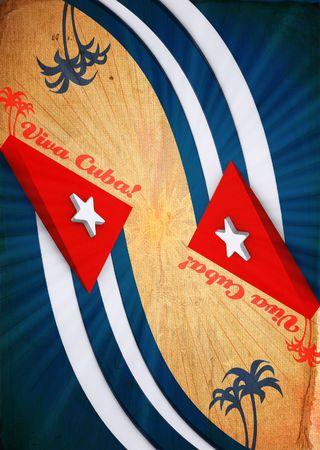 Viva Cuba the Dirty abstract creativity background photo