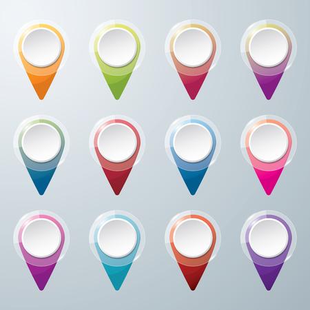 Check in location icon. Location concept design. icon vector. Colorful check in location vector. Illustration