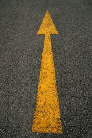 Arrows, the road photo