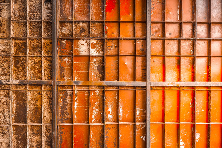Texture of old corroded metal