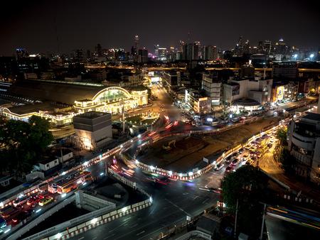 BANGKOK, THAILAND 22 May 2017: Bangkok Railway Station as Hua Lamphong Station, Bangkok city Thailand.