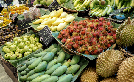 Thailand fruit sold in supermarkets . Stock Photo