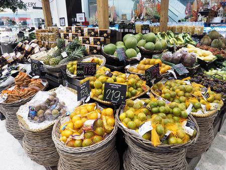 BANGKOK, THAILAND - SEP 6, 2015: Thailand fruit sold in supermarkets . Editorial