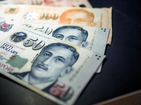 banknote singapore dollar