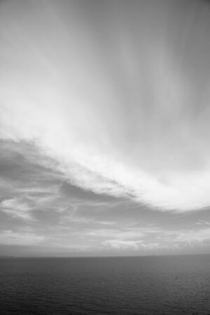 Sea Ocean And Sky Background