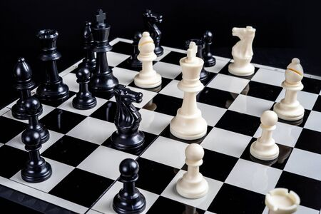 Chess games are so popular with the preparation of each players strategy to win the game