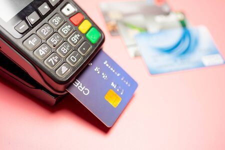 Credit card payment, buy and sell products & service, Finance concept. 写真素材