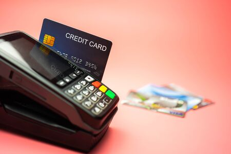 Credit card payment, Buy and sell products & service, selective focus, Finance concept.