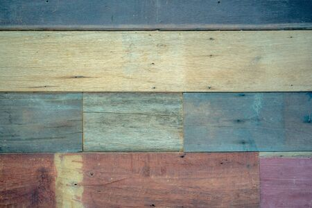 pastel wood wooden with plank texture wall background Through use wash Giving a feeling of looking old.