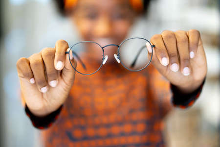 Need a new glasses. Medical, health care concept, used correct or assist defective eyesight