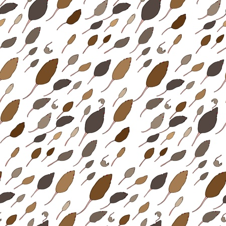 Seamless pattern of various red-eyed rat cartoons for wallpaper and backgrounds. EPS contains swatch.