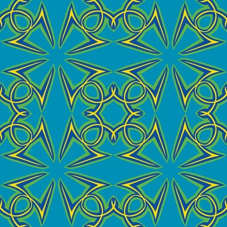 arabische letters: Naadloze wallpaper achtergrond patroon gerangschikt van de Arabische letter Hamza