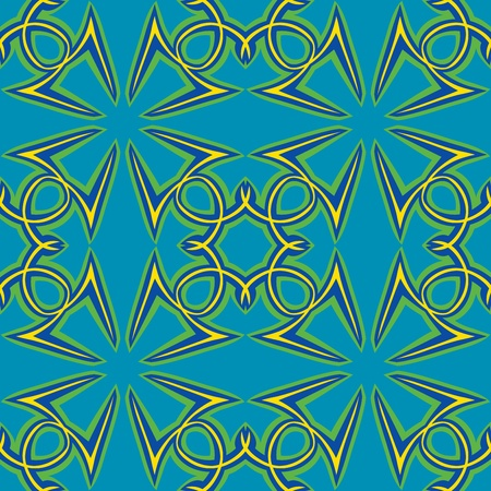 Seamless wallpaper background pattern arranged from the Arabic letter Hamza
