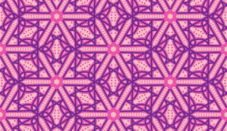 Seamless background wallpaper pattern formed from the Arabic letter Taw. 向量圖像