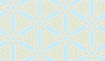 constructed: Seamless wallpaper pattern constructed from the Arabic letter Seen